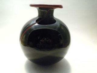 Art Deco Glass Vase photo