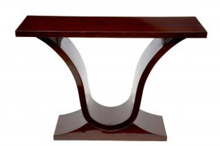 Rosewood Oggee Art Deco Console Table Hall Tables Furniture photo
