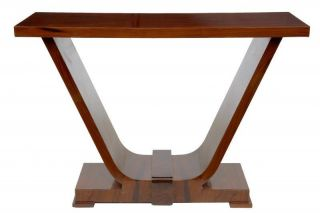 Deco Console Table Hall Tables Modernist Interiors Furniture photo