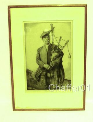 Rare Enoch Fairhurst (1874 - 1945) Personally Signed Etching