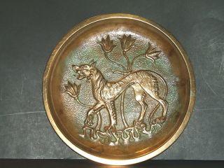 Tinos Art Deco Scandanavian Bronze Plate