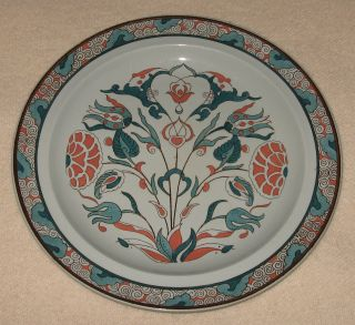 C.  1924 Wedgwood Art Nouveau Decorated Plate 9 - 3/4
