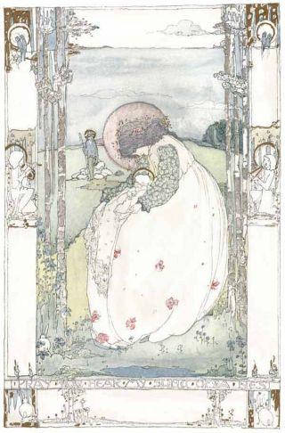 1914 Jessie King Art Nouveau Print Glasgow Girl Poster New Printing photo