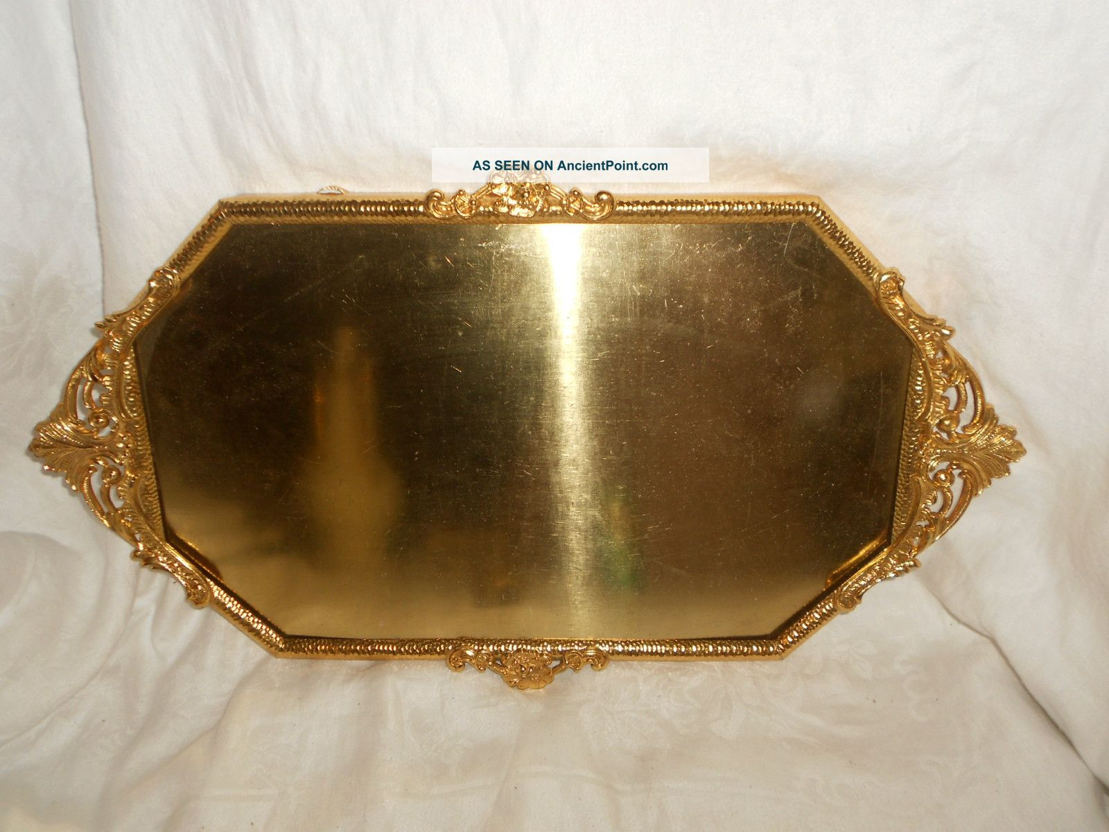 Antique gold plated brass convex picture frame art nouveau orig antique gold plated brass convex picture frame art nouveau orig certificate jeuxipadfo Images