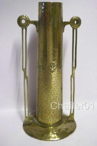 Wmf Jugendstil/ Sezessionstil Bronze Vase C 1890 photo