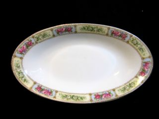 Antique Art Nouveau Rudolstadt Schwarzburg Straus Vegetable Serving Bowl 1904 - 24 photo