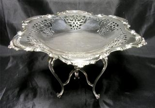 Liberty & Co.  Silver Plated Art Nouveau Tazza/comport,  C.  1890 photo