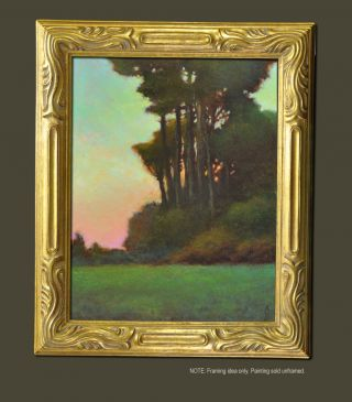 California Plein Air Impressionist Landscape Oil Painting S J Studio photo