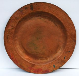 Circa 1910 Mission / Arts & Crafts Hand Hammered Copper 15