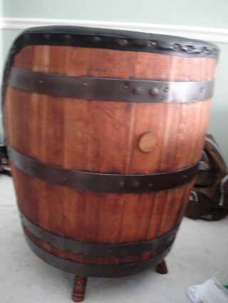 Vintage Whiskey Barrel Chair photo