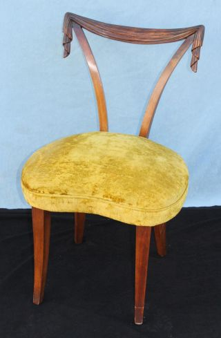 Vintage 1940s - 50s Grosfeld House Art Modern Swag - Back Occasional Chair photo
