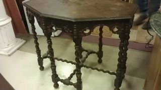 Antique Walnut Table photo