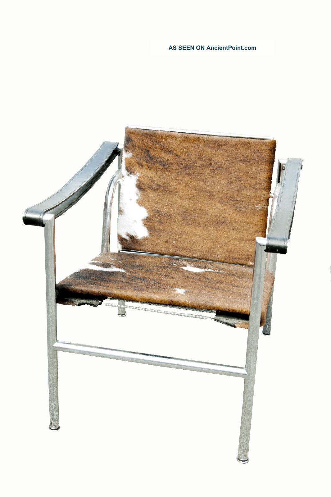 Le Corbusier Lc   1 Cowhide Sling Chair, Cassina Italy