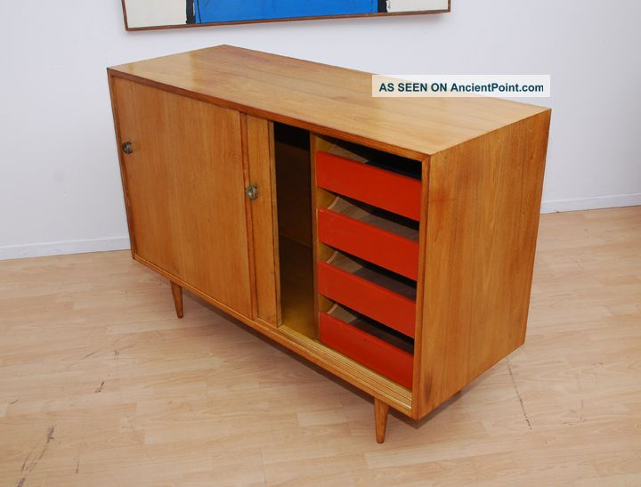Stanley Young For Glenn Of California Cabinet Credenza Mid Century Modern  Eames