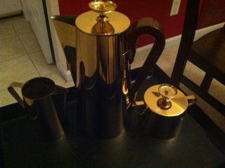 Tommi Parzinger Dorlyn Silversmith Coffee Set - photo