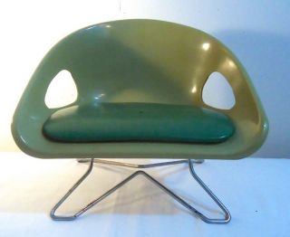 Vintage Mid Century Modern Cosco Childs Booster Chair photo