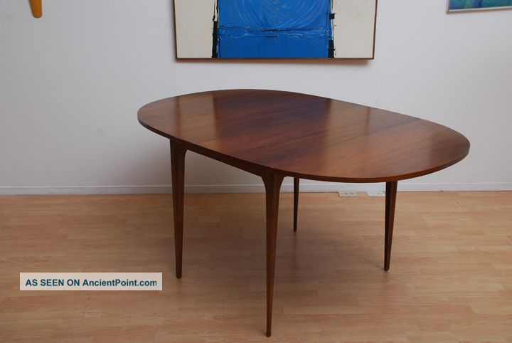 dining table oval dining table mid century