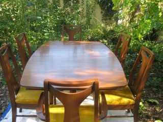 Mid Century Modern Dining Set - Rare Kent Coffey Perspecta Line photo