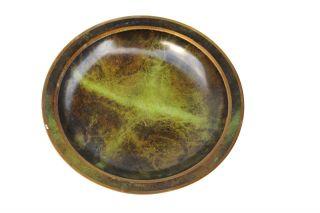 George Jensen & Harald Nielsen Mid Century Modern Bronze Plate,  Denmark,  2 photo