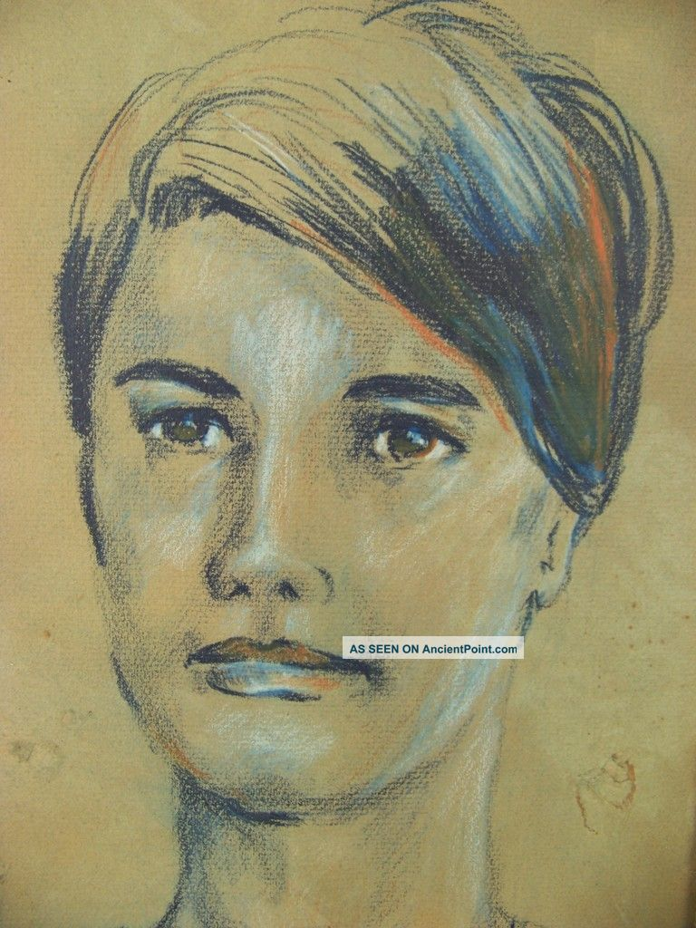 Spectacular Award Winning Art - spectacular_award_winning_art__blue_lady__mid___century_drawing_eames_1_lgw