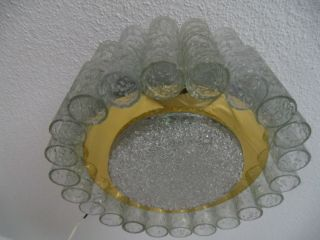 Old German Ceiling Lamp Mid Century 60 ' S / 70 ' S Years Doria photo