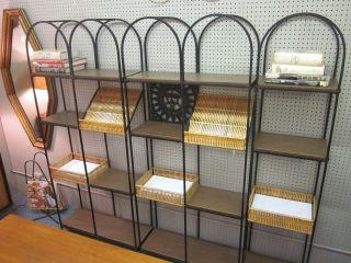 Arthur Umanoff For Raymor 3 - Piece Shelving/display Unit C1960s photo