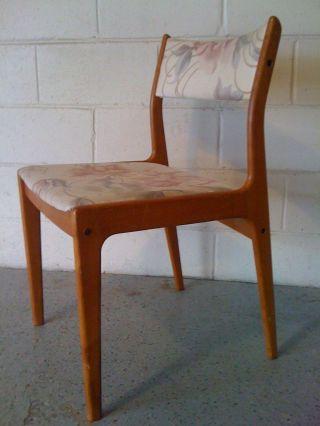 Rut Ro Authentic Teak Uldum Mobelfabrik Chair Made In Denmark photo