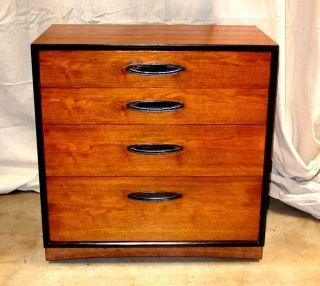 Henredon Circa 60 Walnut Low Dresser Mid Century Danish Modern Refinished photo