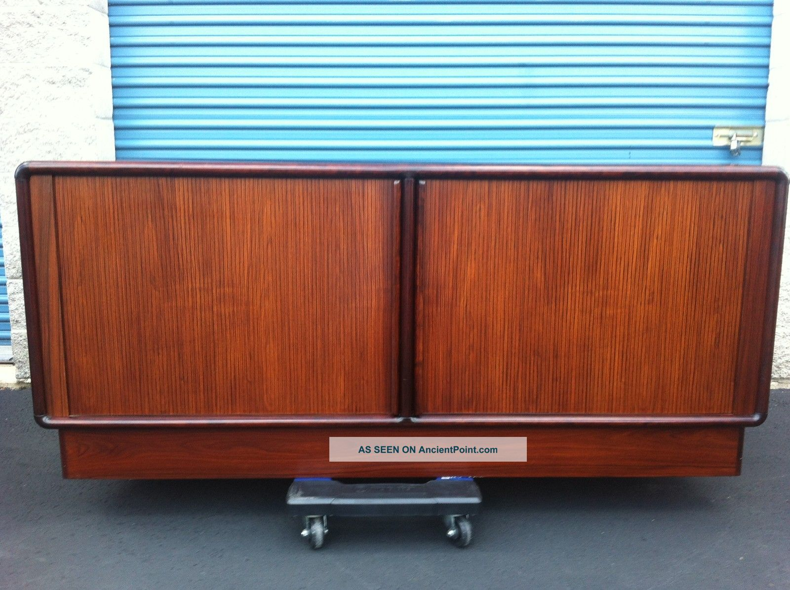 Danish Rosewood Credenza : Rosewood credenza by knoll marble u madel