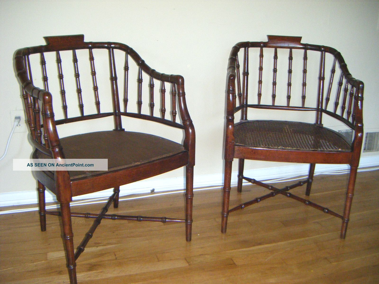 Bamboo Chinese Chippendale Chairs Faux Bamboo Chairs Chinese