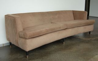 Early Classic Edward Wormley / Harvey Probber Sofa photo