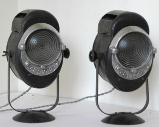 Cremer Head Light Lamps - & Working photo