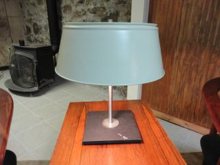 Vintage Mid - Century Walter Von Nessen Table Lamp With Marble Base photo