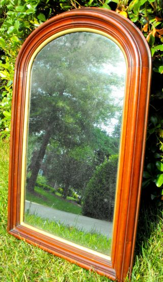 Black Walnut Pier Mirror - Condition - Victorian - 31