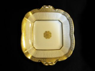 Antique Victorian Porcelain Serving Platter Brown Westhead Moore C 1870s - 1890s photo
