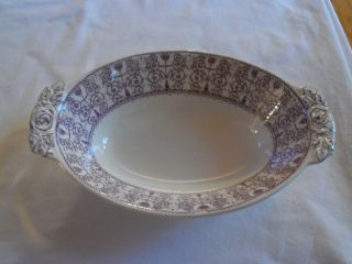 Rare Numbered 1936 Wood & Sons Serving Bowl Seabridge Design photo