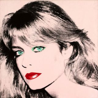 Andy Warhol - Farah Fawcett 20 20 Gallery Wrap Mounted Canvas Art Print photo