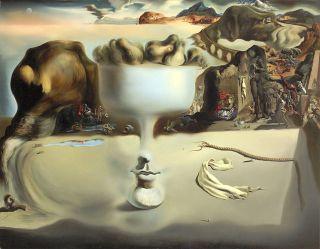 Salvador Dali - Apparition Of Face Fruit 28 22 Canvas photo