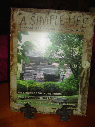 A Simple Life Special Issue 2012 - Five Wonderful Home Tours,  Country Gardens photo