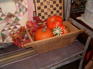 Antique Early Primitive Country Pine Dough Box Wooden Apple Storage Board Farm photo