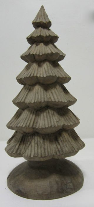 Huge Christmas Tree Paper Mache Mold/sculpture photo