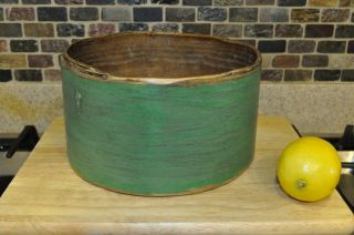 Pantry Box / Measure. . .  Ca:1880s. . .  Old Green Paint photo