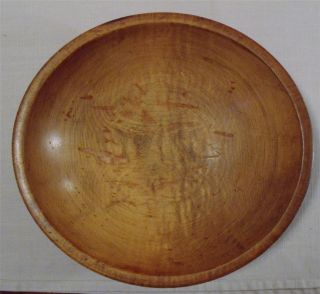 Vintage Kennedy Brothers Vermont Primitive Wooden Bowl photo