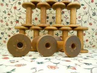 15 Wood Silk Spool Bobbin 4