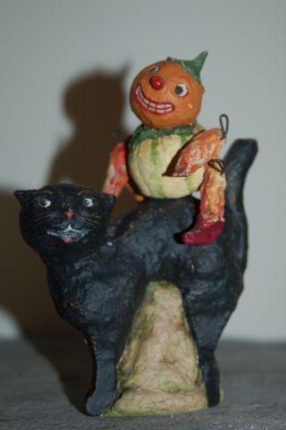 Handmade/artist Made Debbee Thibault Collectible Halloween Figurine - Signed photo