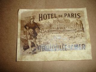 A Lot Of~24 Vintage Look~paris Labels~zne~french~ photo