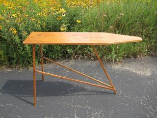 Vintage Wooden Ironing Board photo