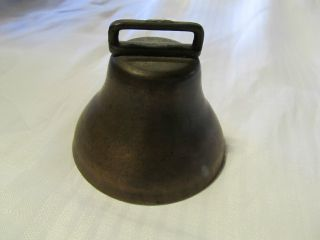 Antique Primitive Goat Or Animal Neck Bell Look photo