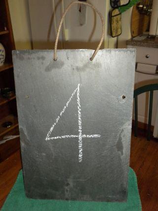 Antique Slate / Chalk Board photo