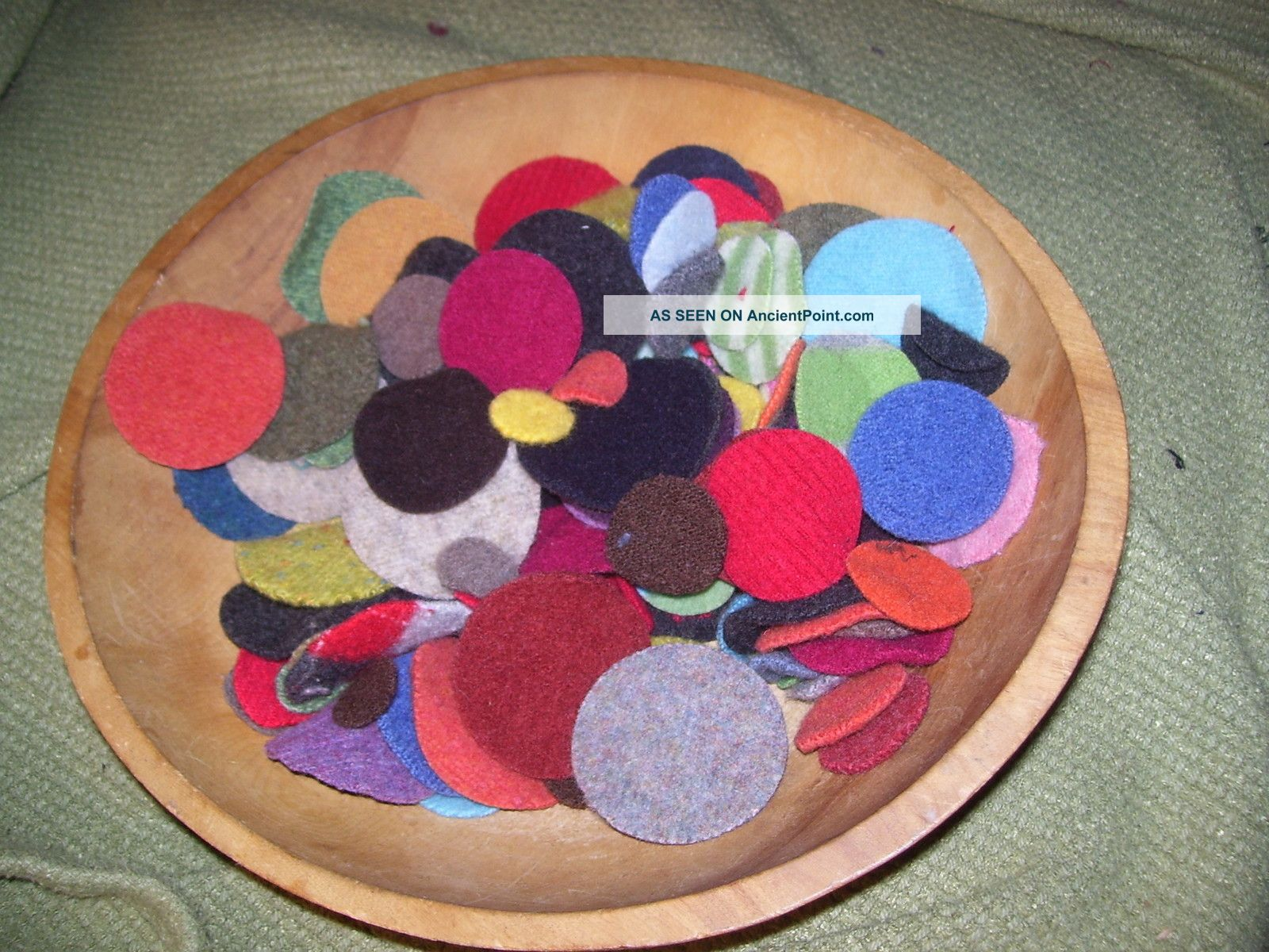 150 Wool Pennies For Penny Rugs 3 Sizes U Sew